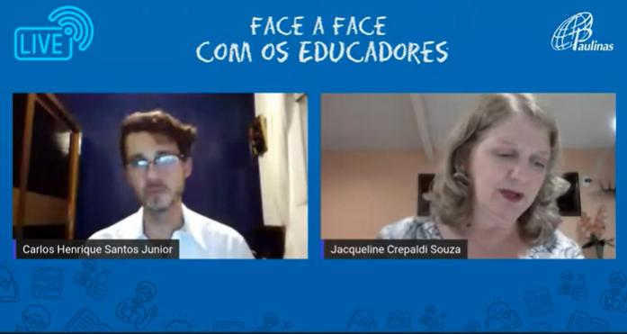 Canal Saberes e Letras – Live: Face a Face com o educador